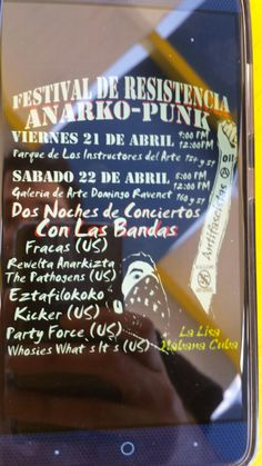 We met an anarchist skinhead in Habana