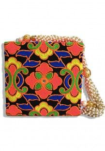 Pearls of Taj Clutch