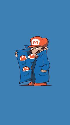 'It's a me Mario! So how much you want I mean 3 is all I got! They is hard to grow with dem toad police up in here but. I have them connections' Scoby Doo, Arte Nerd, Mario And Luigi, Video Game Characters, Dope Art, Video Game Art, Funny Art, Super Mario Bros, Cartoon Art