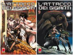 ARCADIA Shop: L'ATTACCO DEI GIGANTI 8 & 9 PRENOTA SUBITO!!!