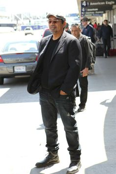 George Lopez is seen at LAX in Los Angeles on April 27, 2014. Check out the many Celebs Spotted at LAX - Los Angeles Int'l Airport! http://celebhotspots.com/hotspot/?hotspotid=4954&next=1