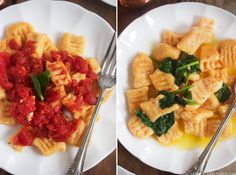 I haven't had pasta in ages! I've never been a fan of ordering or buying gluten-free products in a store. Sweet Potato Gnocchi, Paleo Sweet Potato, Paleo Recipes, Paleo Meals, Pizza Recipes, Dinner Recipes, Cooking Recipes, Clean Eating Recipes, Clean Foods