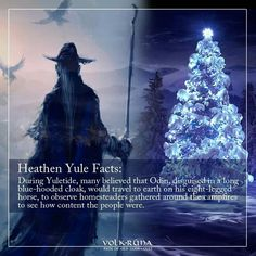 Watch for #Odin this #Yule!