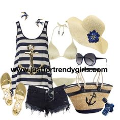 another cute beach outfit