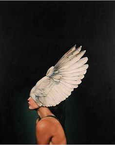 AVIAN WARRIOR by Amy Judd Art, via Flickr