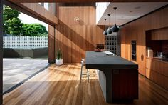 MCK Architects' Flipped House