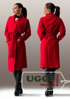Elegant Woman Coat Trench style Long sleeve Cashmere Mid-Calf - Autumn Collectio #Unbranded #Trench