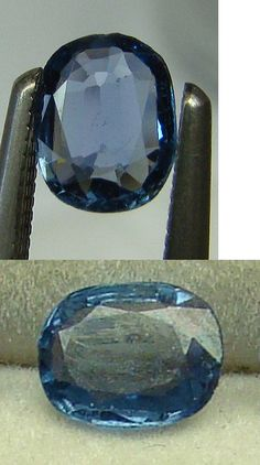 Natural Sapphires 4644: Cornflower Blue Modified Cushionl Cut .55Ct Yogo Sapphire -> BUY IT NOW ONLY: $899 on eBay!