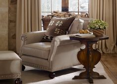 """Ralph Lauren Home Archives, """"Alpine Lodge"""" Living Room detail, 2012; """"Inspired by the international glamour of a beautifully appointed ski chalet."""""""