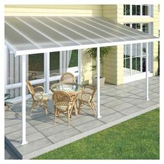 patio cover.  Lightweight and protective.