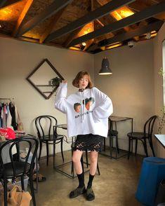 卫衣搭配蕾丝裙 chuu美搭 #chuu#美搭#日搭#可爱#韩国#少女