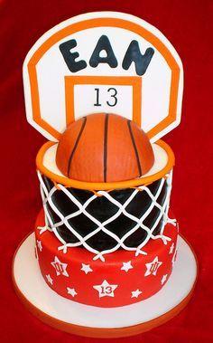 Basketball hoop cake | Flickr - Photo Sharing!