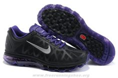 064003a11bb Authentic Mens Nike Air Max 2011 Black Platinum Bright Violet Wh Botas