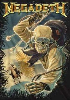 Vic Rattlehead (Megadeth) Arte Heavy Metal, Heavy Metal Rock, Heavy Metal Music, Hevi Metal, Metal Pins, Music Artwork, Metal Artwork, Art Music, Thrash Metal