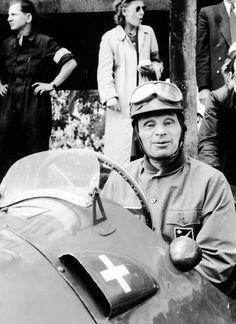 #118 Rudolf Schoeller (CH) - Ferrari 212 (Ferrari V12) suspension (24) Ecurie Espadon