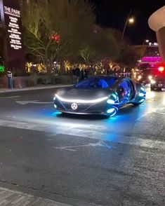 The Mercedes-Benz Vision Avtr Concept in the streets of Las VegasYou can find Gentleman style and more on our website.The Mercedes-Benz . Luxury Sports Cars, Top Luxury Cars, Cool Sports Cars, Sport Cars, Cool Cars, Sports Auto, Mercedes Benz, Mercedes Concept, Audi Autos