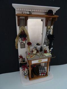 Burberry halstand handmade by Jolanda Knoop