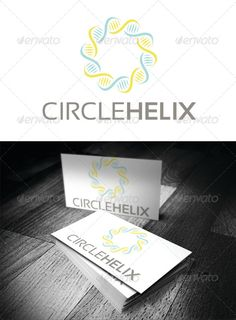 Helix Circle — Vector EPS #helix #medical • Available here → https://graphicriver.net/item/-helix-circle/4505692?ref=pxcr