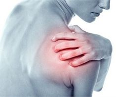Joint Pain Remedies Arthritis or Bursitis Shoulder Pain - Bursitis in the shoulder can have one or more causes including previous injury, repeated pressure on the shoulder, aging, and bacterial infection. Shoulder Pain Relief, Neck And Shoulder Pain, Shoulder Joint, Bursitis Shoulder, Shoulder Arthritis, Crossfit, Tendinitis, Cardio Training, Fibromyalgia