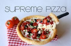 A miniature supreme pizza that's floating made from polymer clay!! I was inspired by some amazing Japanese food samples:D Of course you could make this into ...