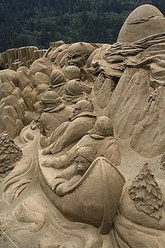 Harrison Hot Springs Sand Castles