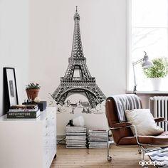 torre eiffel; decoração com torre eiffel; como usar torre eiffel na decoração; papel de parede de torre eiffel; torre eiffel quarto de menina; paris na deco
