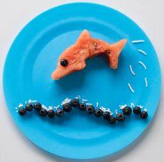 Sugar Free party food Watermelon Dolphin