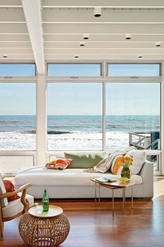 My Summer Crib | Beach View 25 Chic Beach House Interior Design Ideas Spotted on Pinterest  - HarpersBAZAAR.com