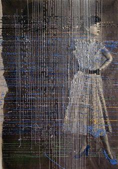 "darksilenceinsuburbia: "" Hinke Schreuders Works on paper 2013 & 2014 """
