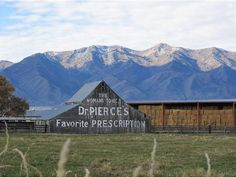 Not long after this barn was erected on the Logan UT outskirts in 1904, Dr. Pierce hung up his advertisement  | Deseret News