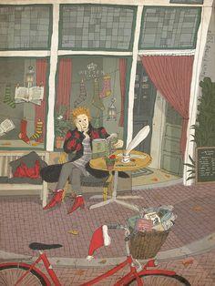 David Pintor artwork      libros navidad 2011