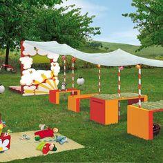 diy backyard theater for kids