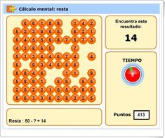 """Cálculo mental: """"Resta"""" Game Design, Calculator, Numbers, Math, Puzzle, Youtube, Ideas, Mental Calculation, Maths Area"""