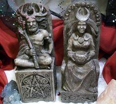 Dryad Designs Celtic Seated Horned God