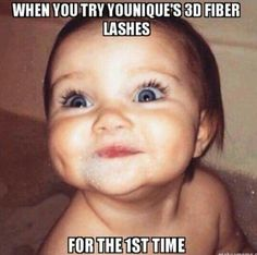 You will be flashing those lovely lashes at everyone you see!! Don't wait, get your 3D+ fiber lash mascara today at www.youniqueproducts.com/AmandaW326
