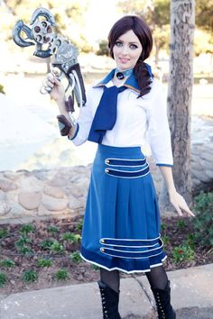 Elizabeth, Bioshock Infinite - 34 Awesome Cosplay Costumes That Are Some of the Best Ever Bioshock Infinite Elizabeth, Cool Costumes, Cosplay Costumes, Cosplay Ideas, Elizabeth Cosplay, Best Cosplay Ever, Bioshock Cosplay, Halloween Cosplay, Halloween 2017