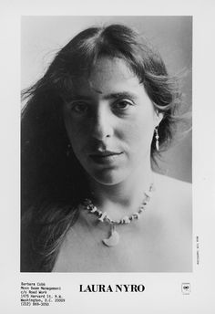 Laura Nyro made her mark writing hit songs, not performing them on http://www.goldminemag.com