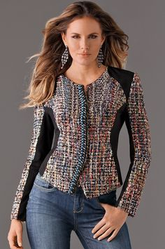 23 Women's Stylish Jackets To Look Cool And Fashionable - Luxe Fashion New Trends - Fashion Ideas Fashion Mode, Womens Fashion, Stylish Jackets, Latest Fashion Trends, Casual Chic, Ideias Fashion, Casual Outfits, Fashion Dresses, Vogue