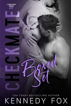 Checkmate Duet Series Boxed Set - Kennedy Fox - Cover Reveal - Introducing the complete Logan & Kayla saga in the Checkmate series from Kennedy Fox!