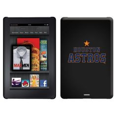 Houston Astros - Word Logo design on a Black Thinshield Case for Amazon Kindle Fire by Coveroo. $39.95. This hard shell polycarbonate case offers a slim fit form factor, while covering the back and sides of your Kindle Fire