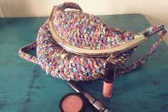 Bolso hecho a mano. Crochet. Ganchillo
