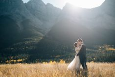 Jessica and Blayne chose the Silvertip Resort in Canmore to hold their wedding after falling in love with the venue's beautiful backdrop and privacy.