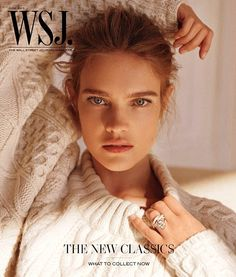 Natalia Vodianova for WSJ magazine Cover June 2013. MagSpider : http://magspider.blogspot.com/