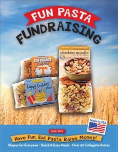 Pasta Fundraising Products