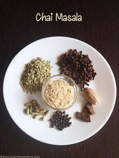 tea masala powder recipe an aromatic homemade spiced masala powder for tea.how to make chai masala powder recipe Tea Recipes, Coffee Recipes, Indian Food Recipes, Masala Powder Recipe, Masala Recipe, Homemade Spices, Homemade Seasonings, Chai Tea Recipe, Masala Tea