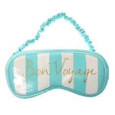 Mint Glitter Bon Voyage Eye Mask