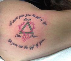 My adoption tattoo for my girls. Baby Feet Tattoos, Foot Tattoos For Women, Cs Lewis, Adoption Symbol Tattoos, Symbols Tattoos, I Tattoo, Tattoo Quotes, Small Tattoo, Parent Tattoos