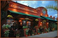 Coronado Brewing Company, great food and beer on the island!