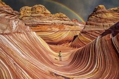 Petrified sand dunes, Arizona