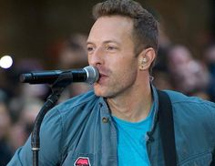 Coldplay lead vocalist, Chris Martin...